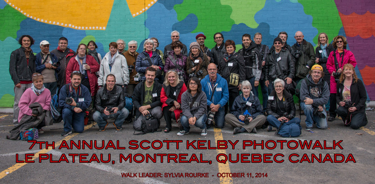 SCOTT KELBY MONTREAL, LED BY SYLVIA ROURKE